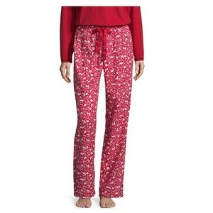 Sleep Chic Flannel Winter Print Pajama Pants XXL